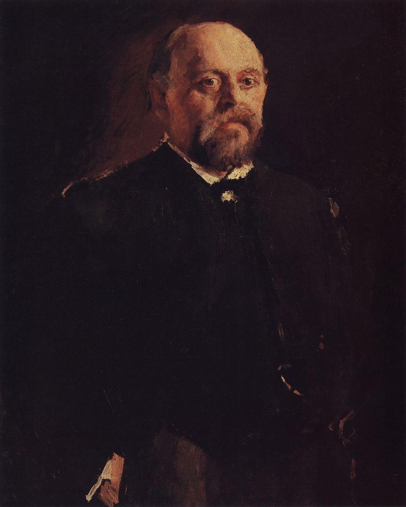 Portrait of Savva Mamontov - Valentin Serov