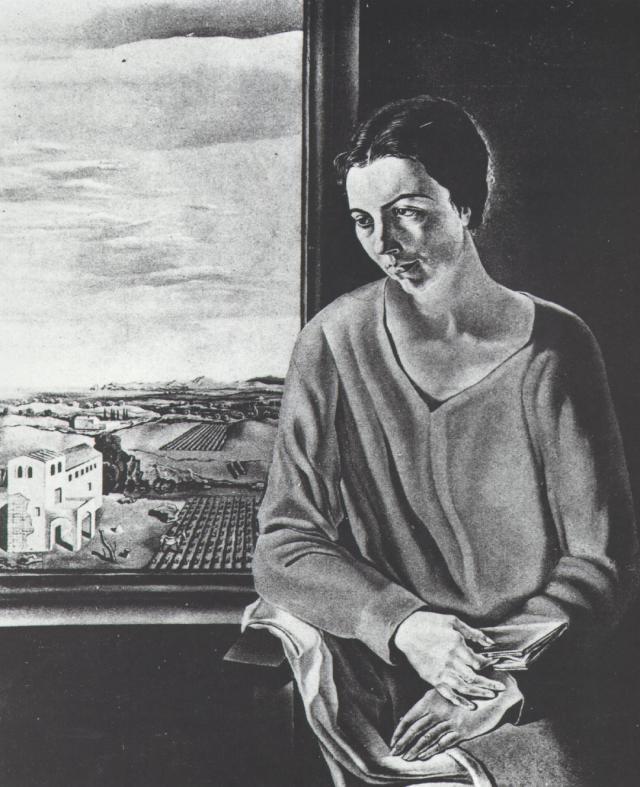 Portrait of Sefiora Abadal De'Argemi - Salvador Dali