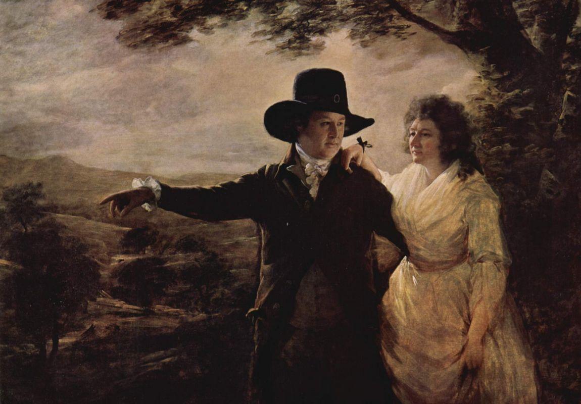 Portrait of Sir John and Lady Clerk of Penicuik - Henry Raeburn