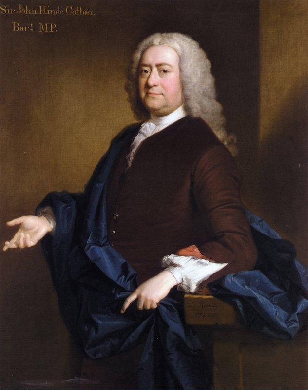 Portrait of Sir John Hynde Cotton, 3rd BT - Allan Ramsay