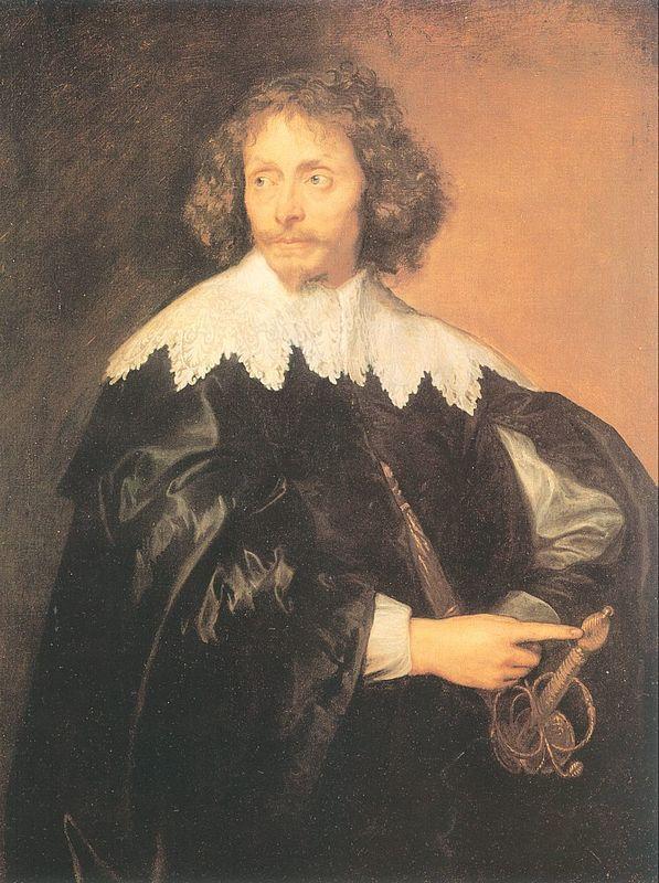 Portrait of Sir Thomas Chaloner - Anthony van Dyck