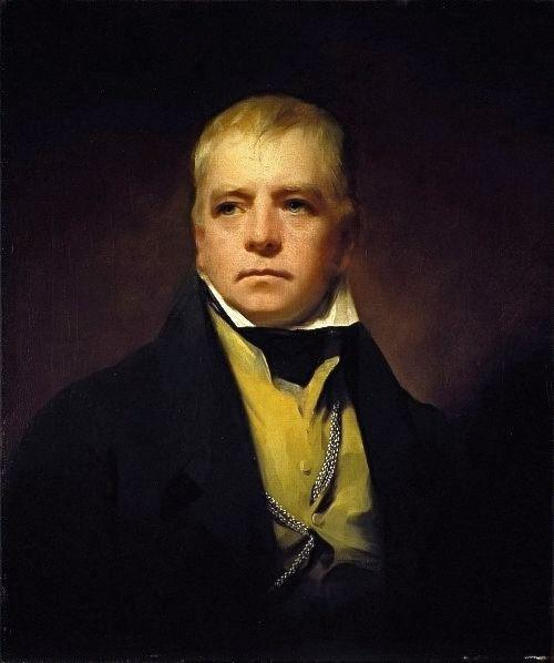 Portrait of Sir Walter Scott - Henry Raeburn