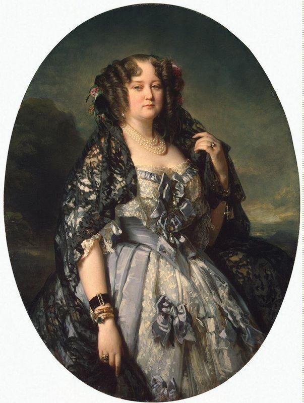 Portrait of Sophia Alexandrovna Radziwill - Franz Xaver Winterhalter