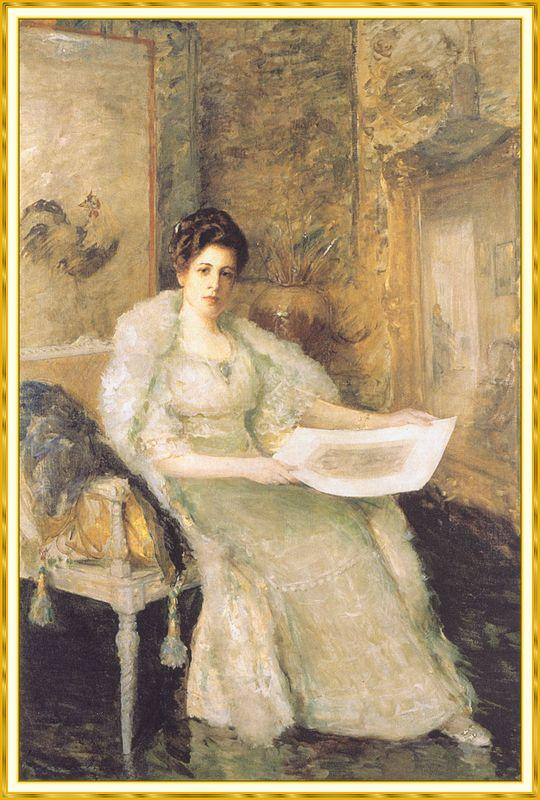 Portrait of Susan Watkins - William Merritt Chase