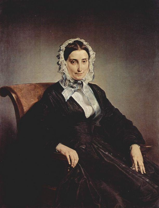 Portrait of Teresa Borri - Francesco Hayez