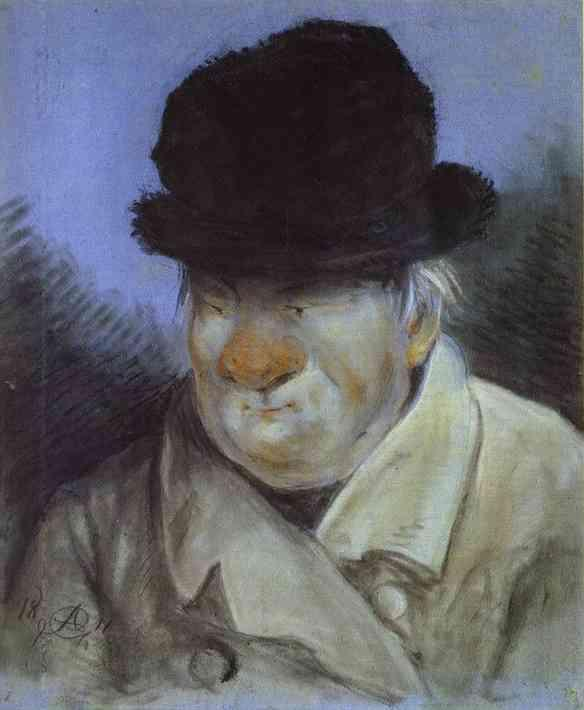 Portrait of the Architect Giacomo Quarenghi - Alexander Orlowski