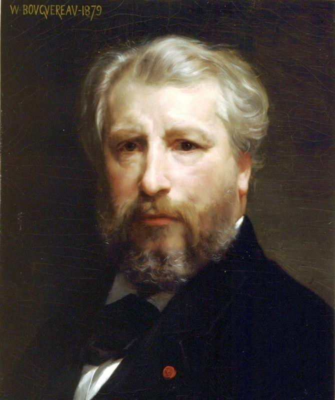 Portrait of the Artist - William-Adolphe Bouguereau