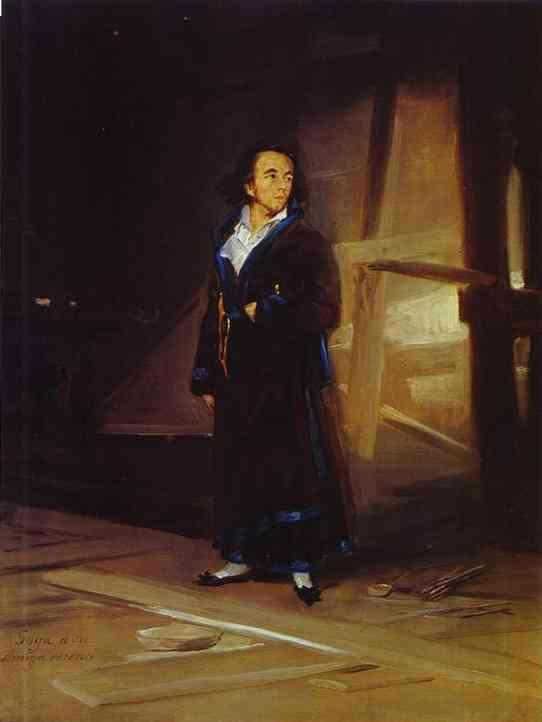 Portrait of the Artist Julio Asensio - Francisco Goya
