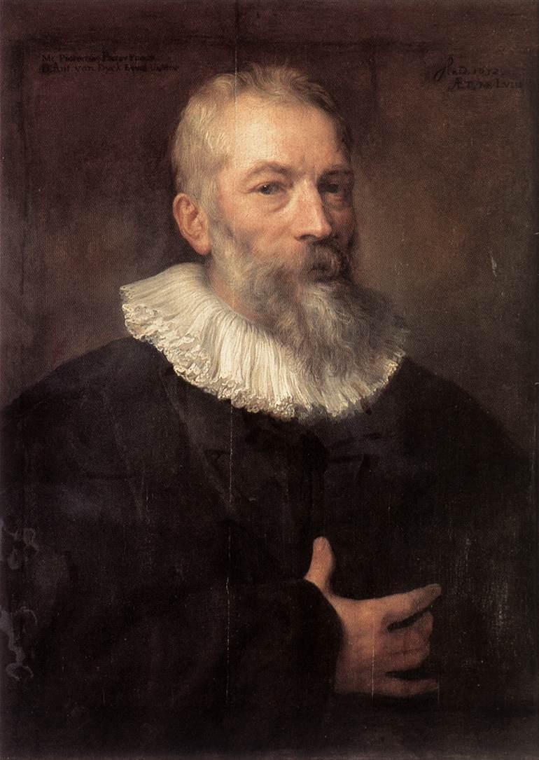 Portrait of the Artist Marten Pepijn - Anthony van Dyck