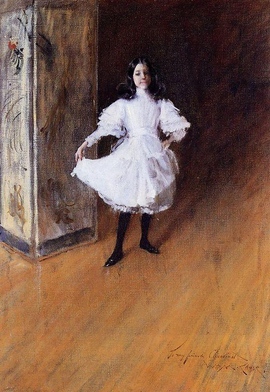 Portrait of the Artist's Daughter (Dorothy) - William Merritt Chase