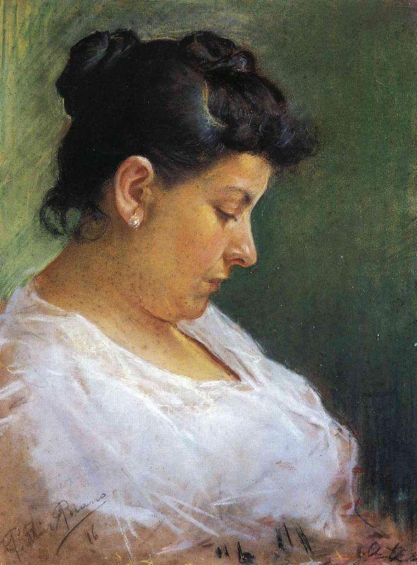 Portrait of the Artist's Mother - Pablo Picasso
