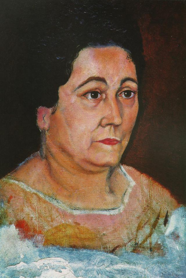 Portrait of the Artist's Mother, Dofia Felipa Dome Domenech De, Dali - Salvador Dali