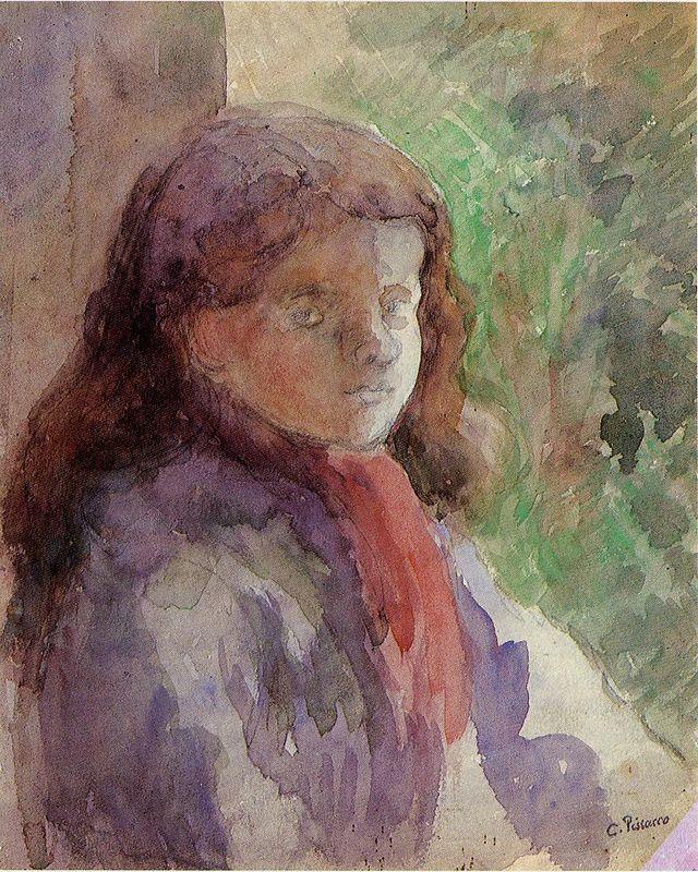 Portrait of the Artist's Son, Ludovic Rudolphe - Camille Pissarro