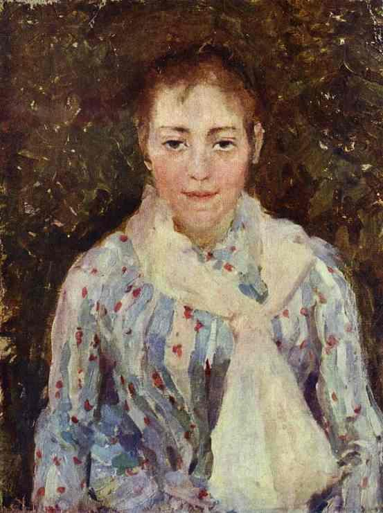 Portrait of the Artist V. V. Wulf - Konstantin Korovin