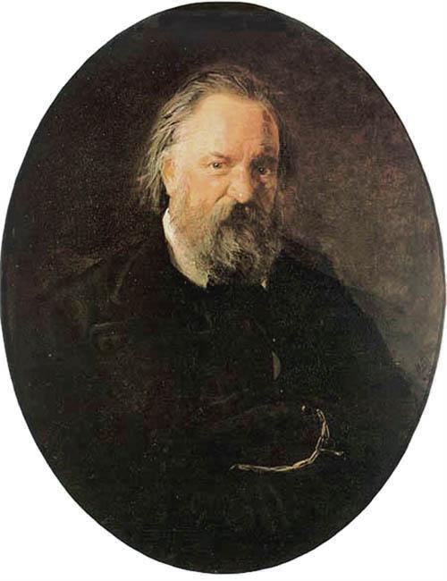Portrait of the Author Alexander Herzen - Nikolai Ge