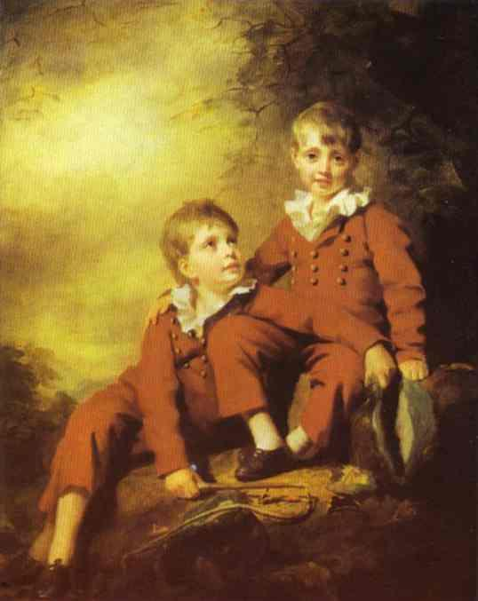 Portrait of the Binning Children - Henry Raeburn