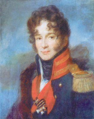 Portrait of the Commander of the Dragoon Regiment P. A. Chicherin - Alexey Venetsianov