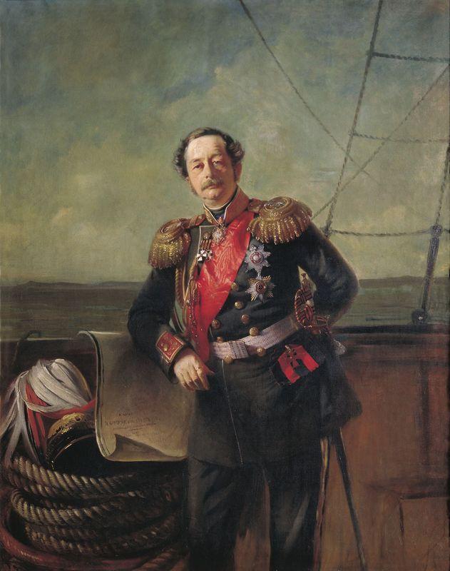 Portrait of the Count Nikolay Muravyov-Amursky - Konstantin Makovsky