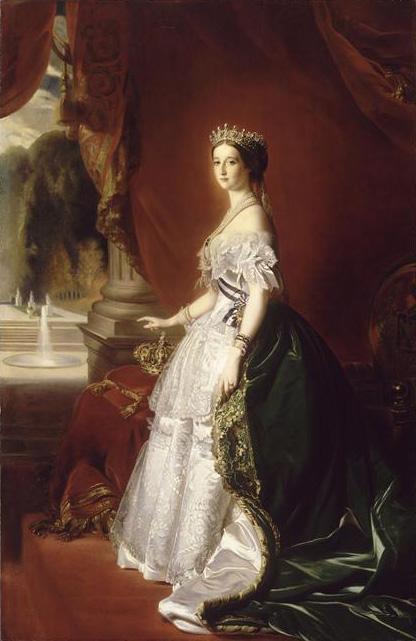 Portrait of the Empress Eugenie - Franz Xaver Winterhalter