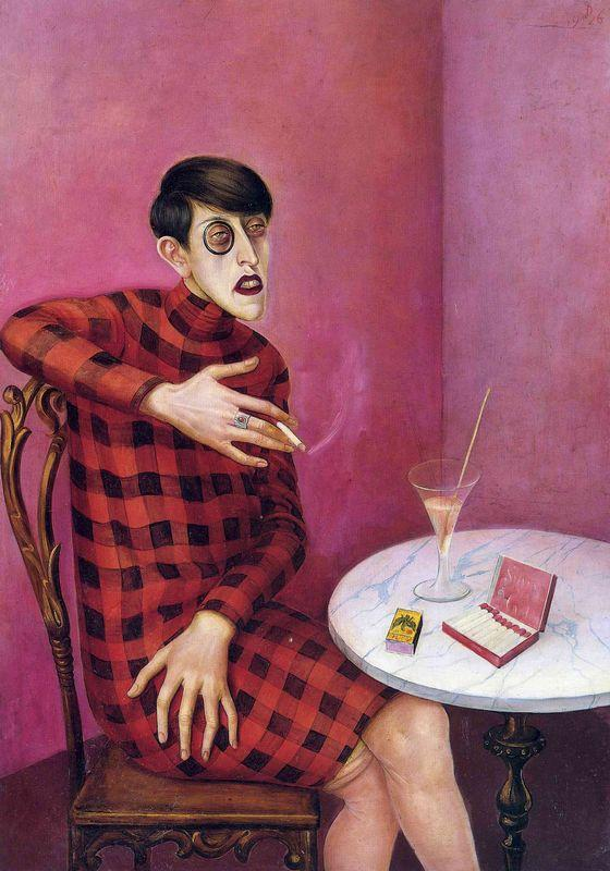 Portrait of the Journalist Sylvia Von Harden - Otto Dix