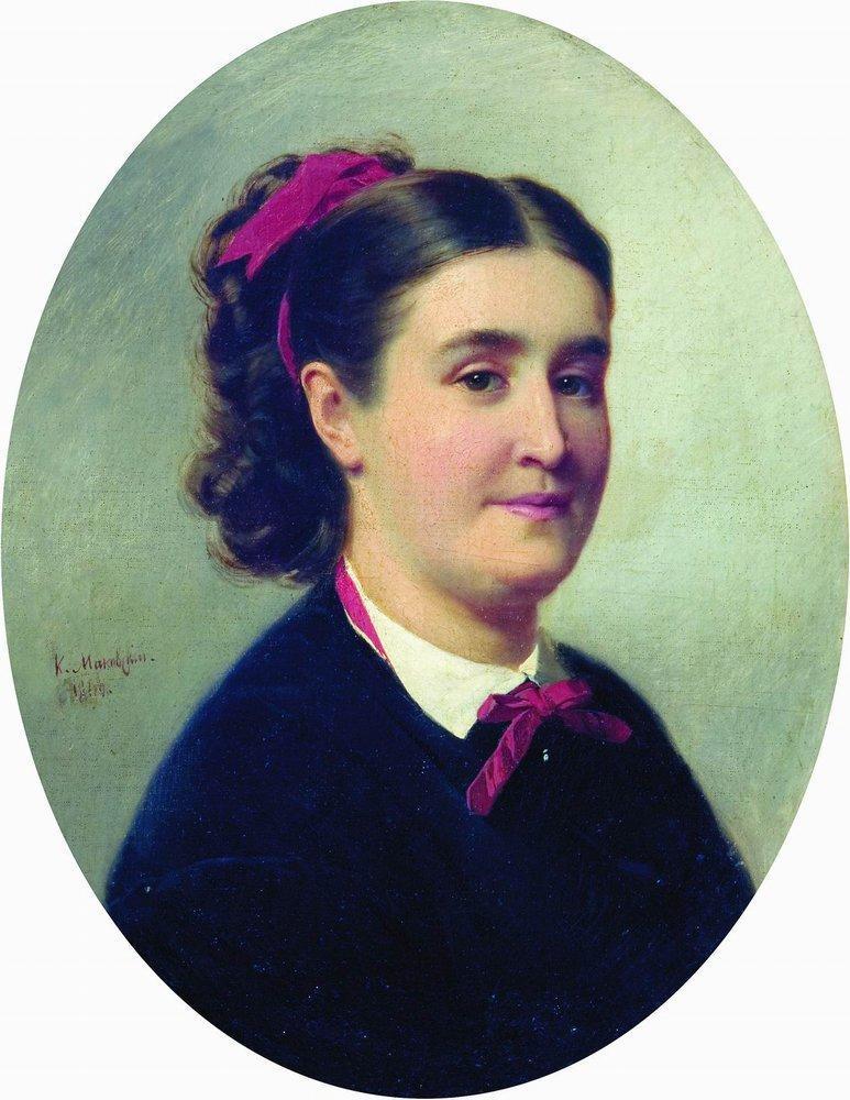 Portrait of the Lady - Konstantin Makovsky