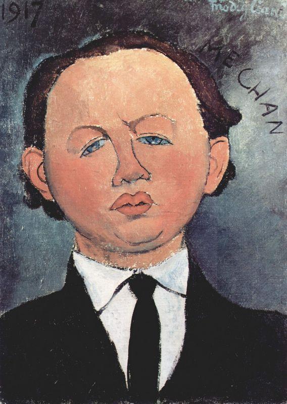 Portrait of the Mechanical - Amedeo Modigliani
