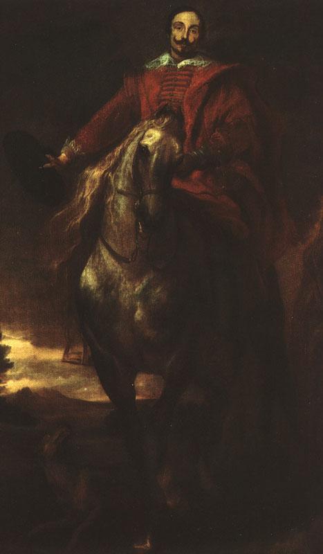 Portrait of the Painter Cornelis de Wae - Anthony van Dyck
