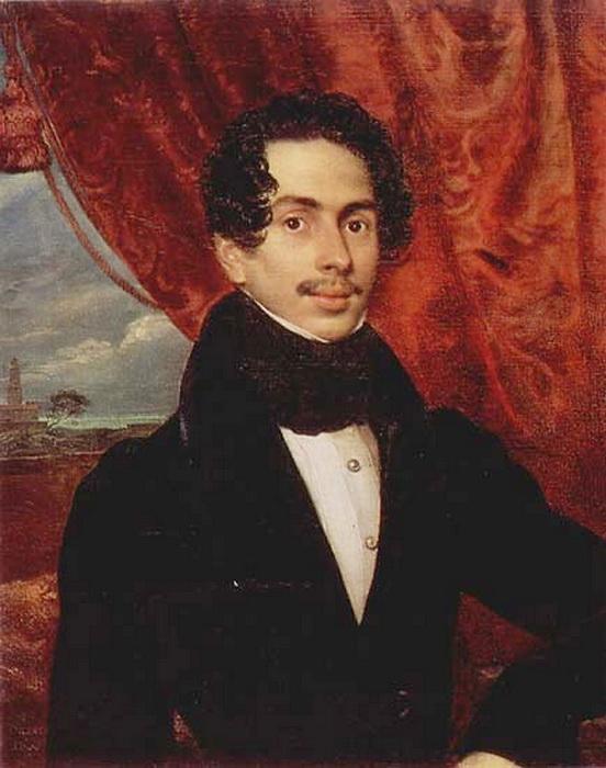 Portrait of the Prince F. A. Golitsyn - Orest Kiprensky