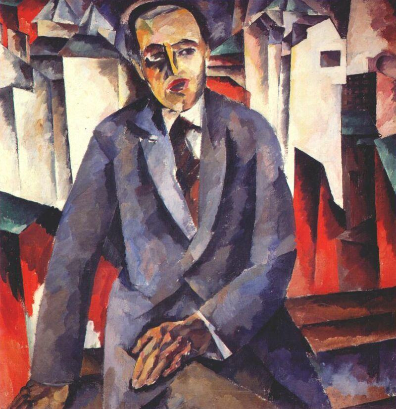 Portrait of the Regisseur Alexander Tairov - Aristarkh Lentulov