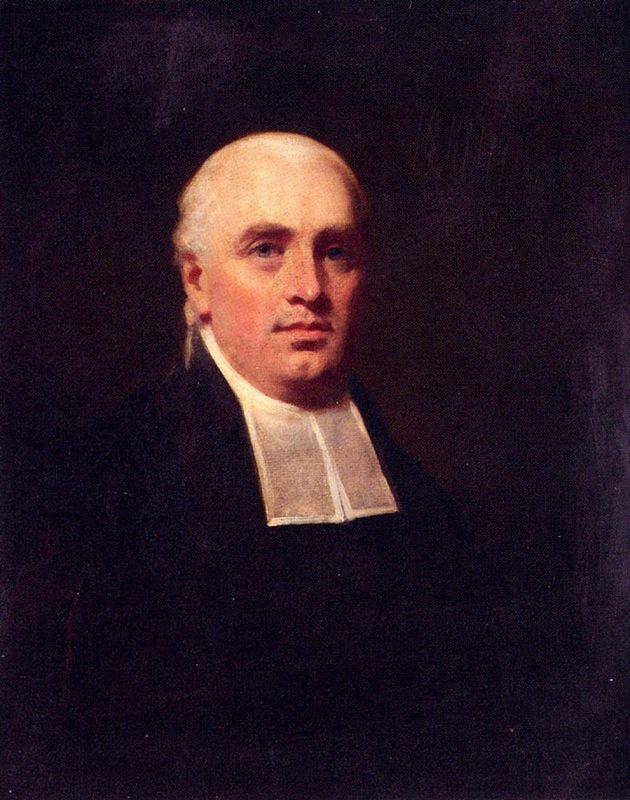Portrait of the Rev. William Paul - Henry Raeburn