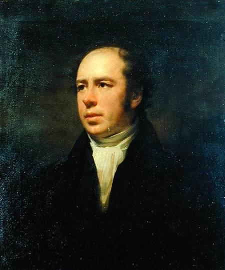 Portrait of The Reverend John Thomson, Minister of Duddingston - Henry Raeburn