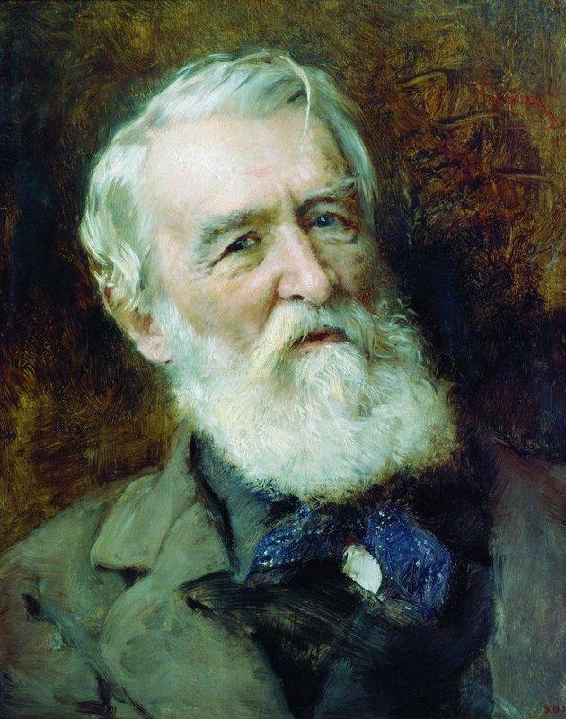 Portrait of the Wrighter D.Grigorovich - Konstantin Makovsky
