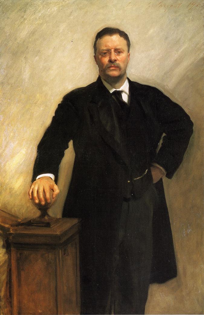 Portrait of Theodore Roosevelt - John Singer Sargent