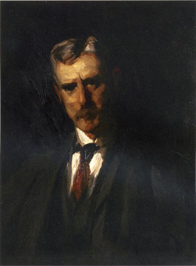 Portrait of Thomas Anschutz - Robert Henri