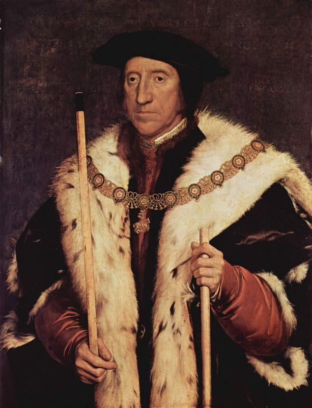 Portrait of Thomas Howard - Hans Holbein the Younger