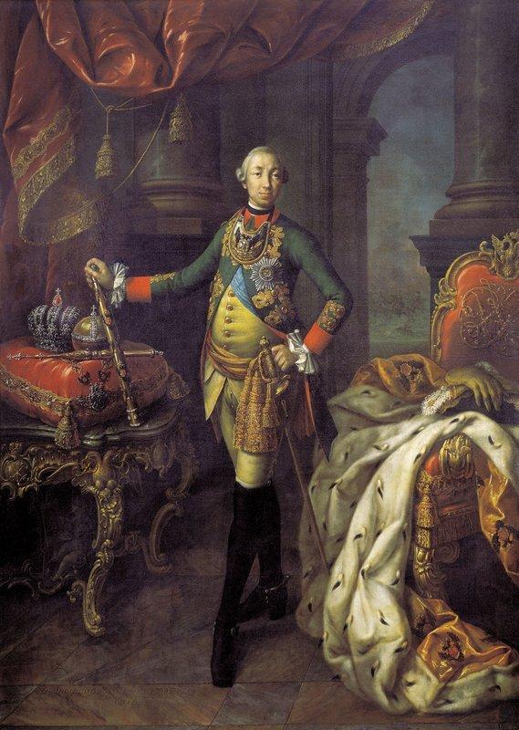 Portrait of Tsar Peter III (1728-62) - Aleksey Antropov
