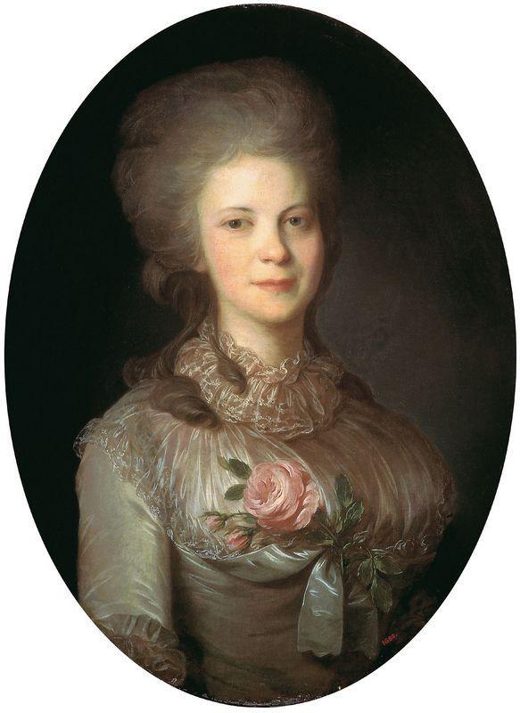 Portrait of Varvara Nikolaevna Surovceva - Fyodor Rokotov