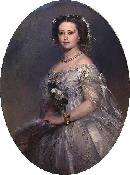 Portrait of Victoria, Princess Royal - Franz Xaver Winterhalter