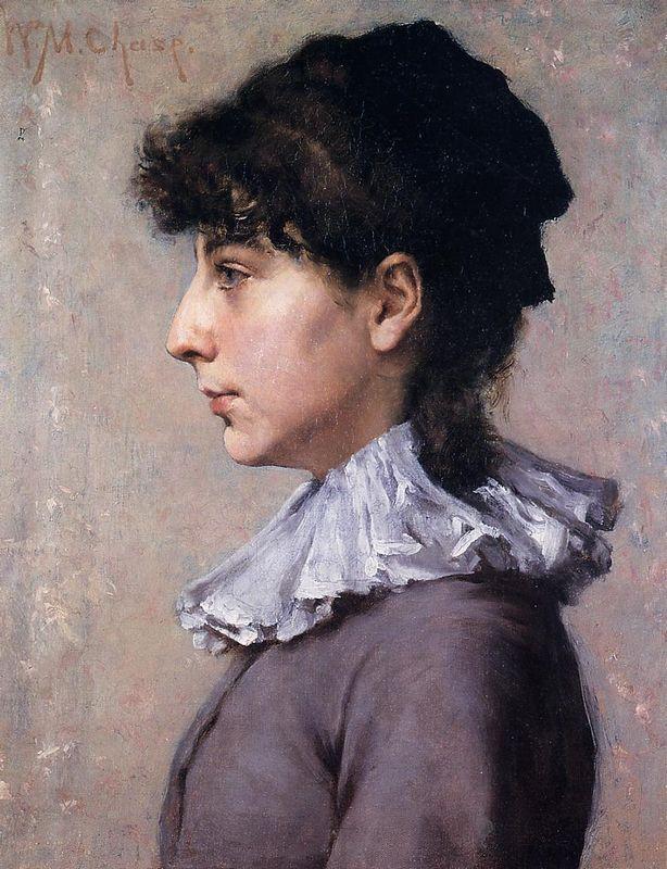 Portrait of Virginia Gerson - William Merritt Chase
