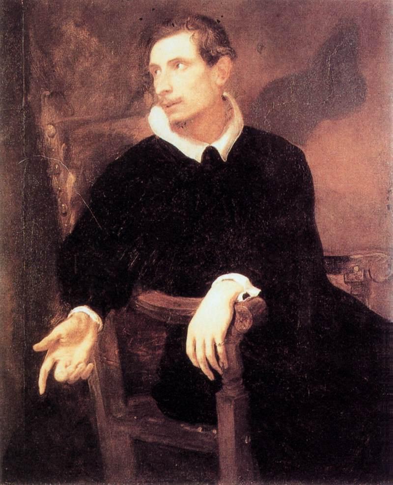 Portrait of Virginio Cesarini - Anthony van Dyck