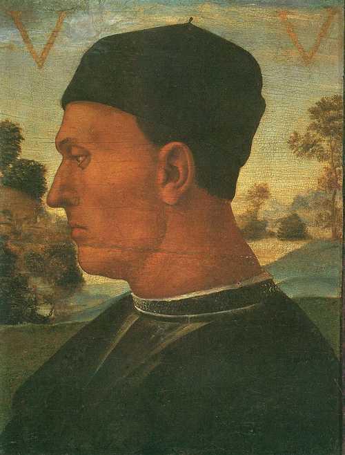 Portrait of Vitellozzo Vitelli - Luca Signorelli