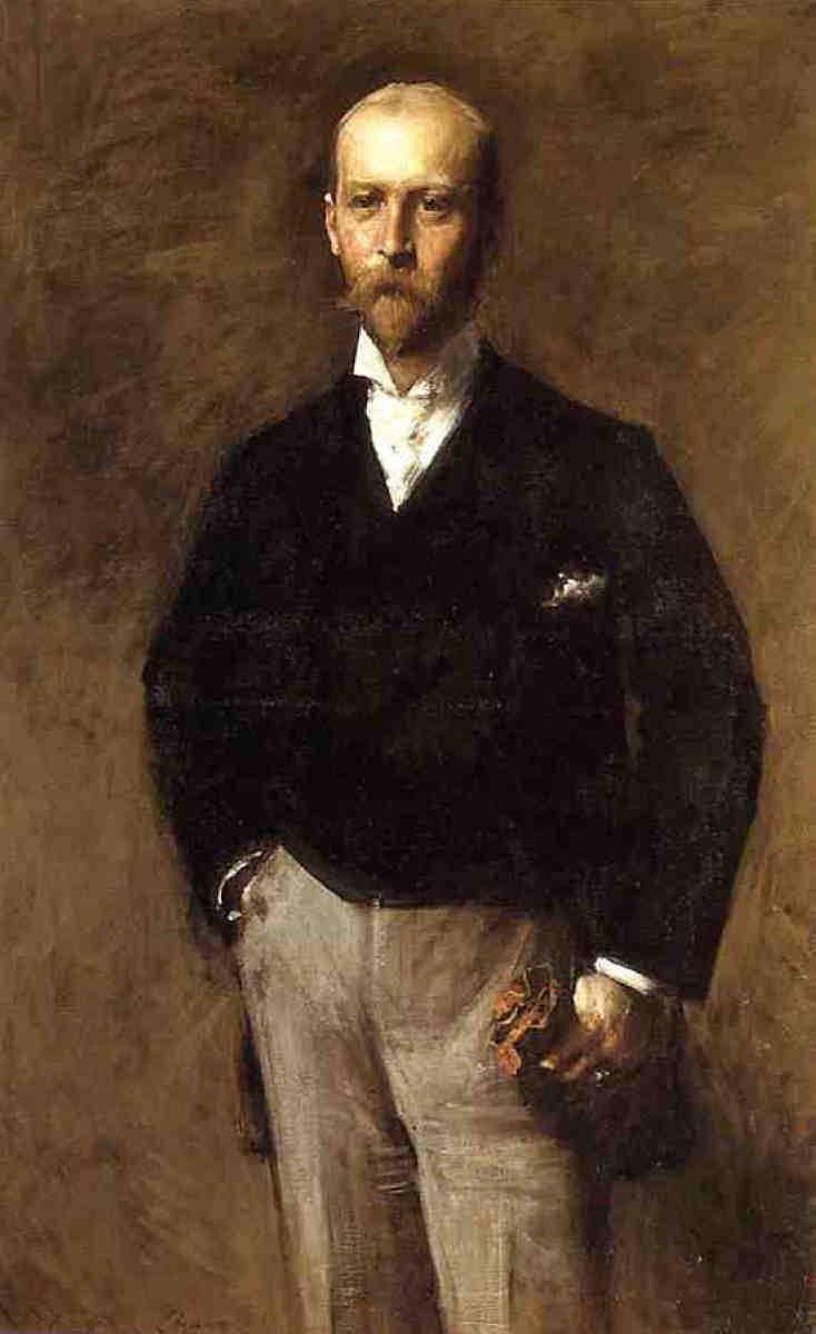 Portrait of William Charles Le Gendre - William Merritt Chase