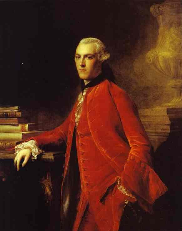 Portrait of William Colyear, Viscount Milsington - Allan Ramsay