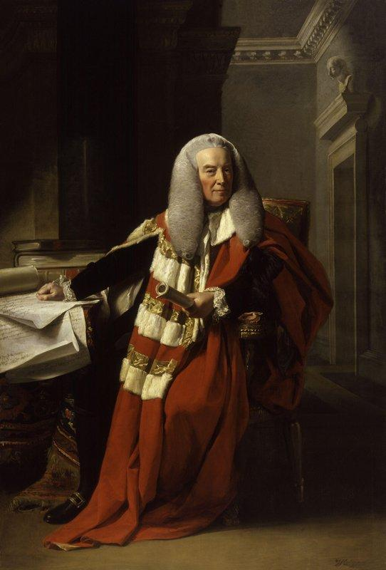 Portrait of William Murray - John Singleton Copley