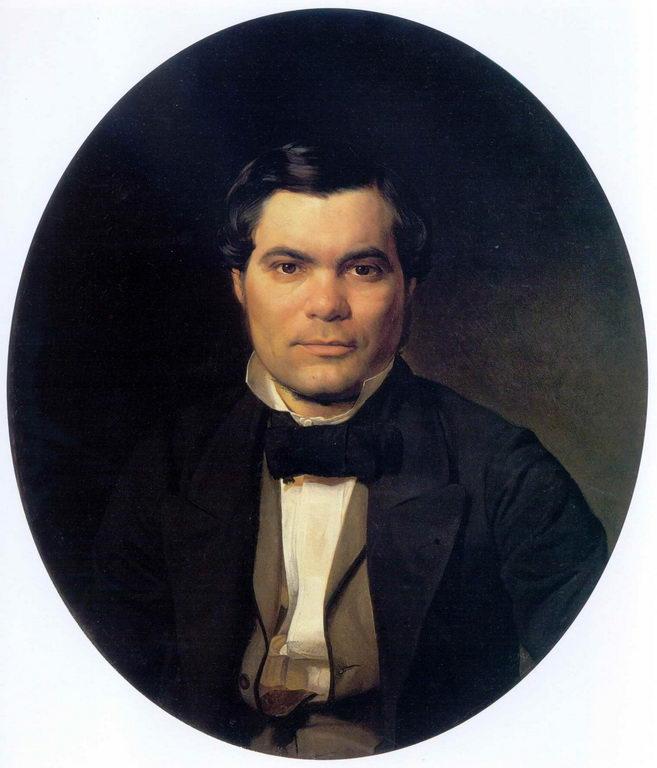 Portrait of Yakov Merkulov - Nikolai Ge