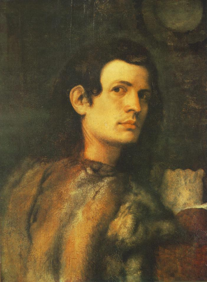 Portrait of young man - Giorgione