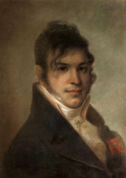 Portret of A.I. Bibikov - Alexey Venetsianov