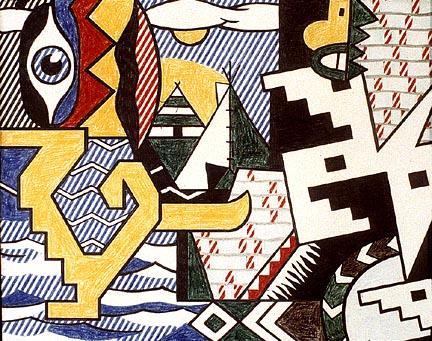 Pow Wow - Roy Lichtenstein