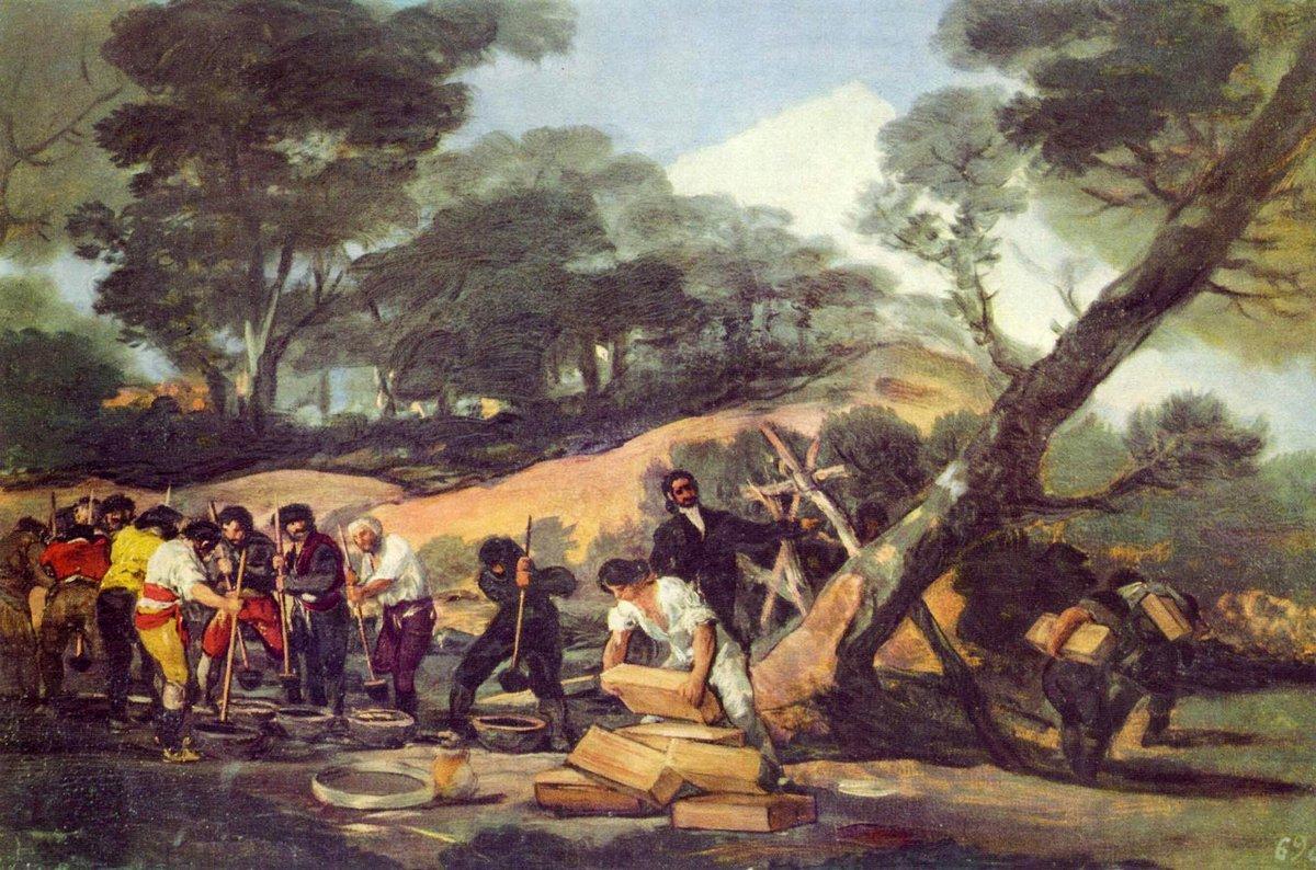 Powder Factory in the Sierra - Francisco Goya