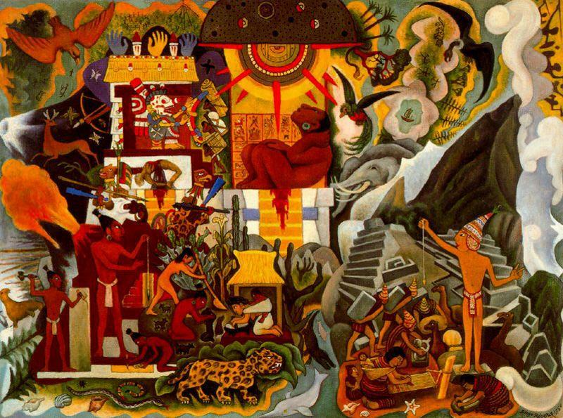 Pre Hispanic America - Diego Rivera